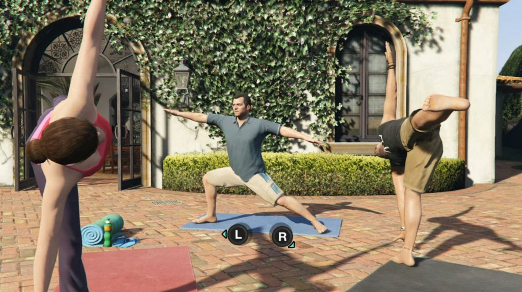 In GTA V, Rockstar caved to overwhelming fan pressure and finally added interactive Yoga.