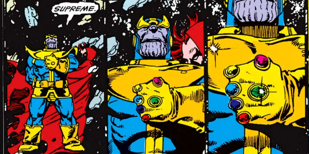Can Thanos grow a beard? I have to imagine shaving that bumpy chin would be a challenging job.
