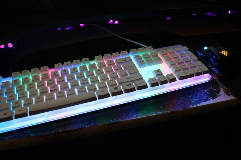 I don`t actually use rainbow mode. Boringly, I mostly stick to pure white.