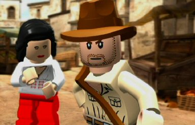 Oh wow! It's Harrison Ford! Oh wait. No.  It's just a Lego guy. Had me going there for a second.