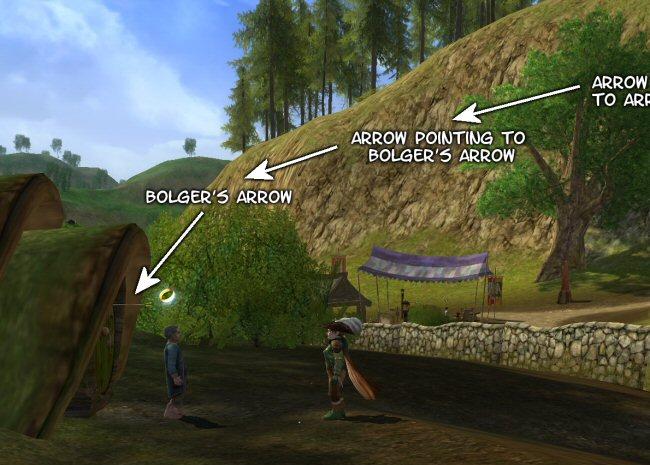 Mouseover text describing the arrow to Bolger's arrow to Bolger's arrow to...