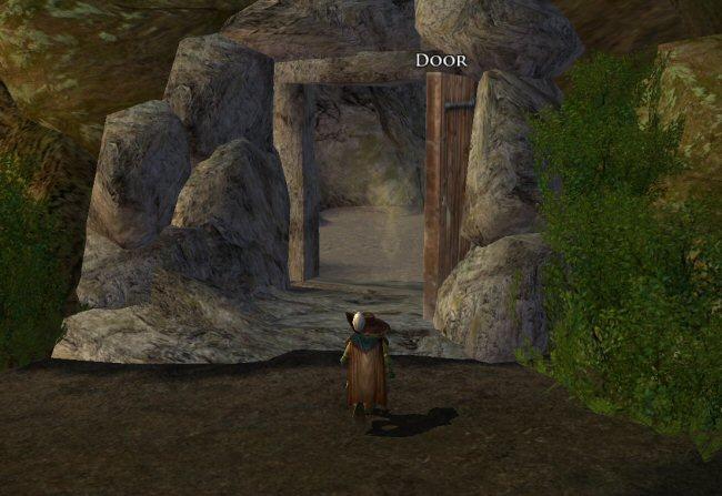 This is the nicest Goblin door I've ever seen. It's also the ONLY Goblin door I've ever seen.