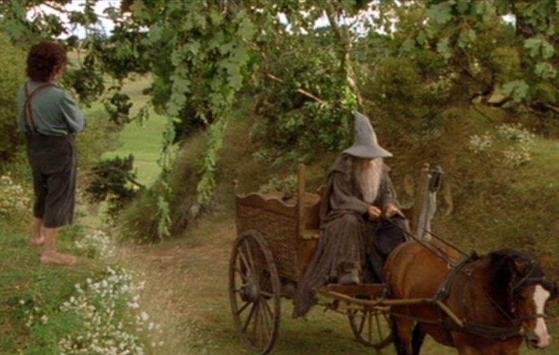 I am no longer Gandalf the Grey. I am now Gandalf the slightly off-white.