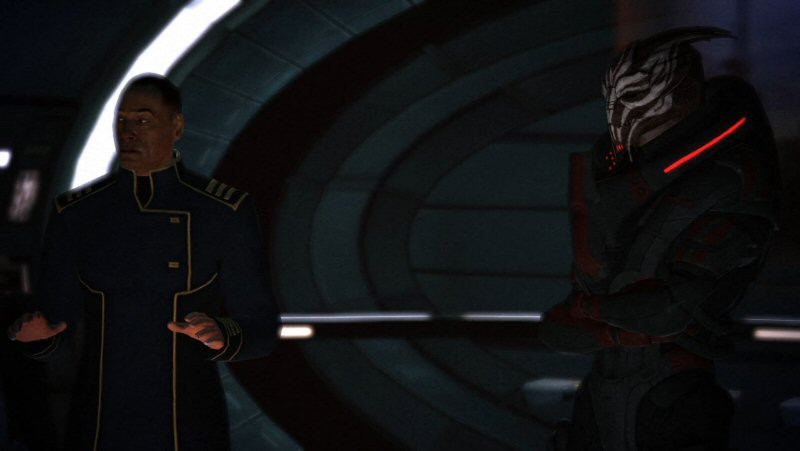 You'll get to shoot aliens in a minute, Shepard. But first let's talk about galactic history, Council politics, the Spectre program, and the difficulties and importance of human colonization in the Attican Traverse.