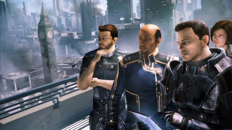 Sure, billions died across the galaxy, but at least Shepard managed to save Big Ben.