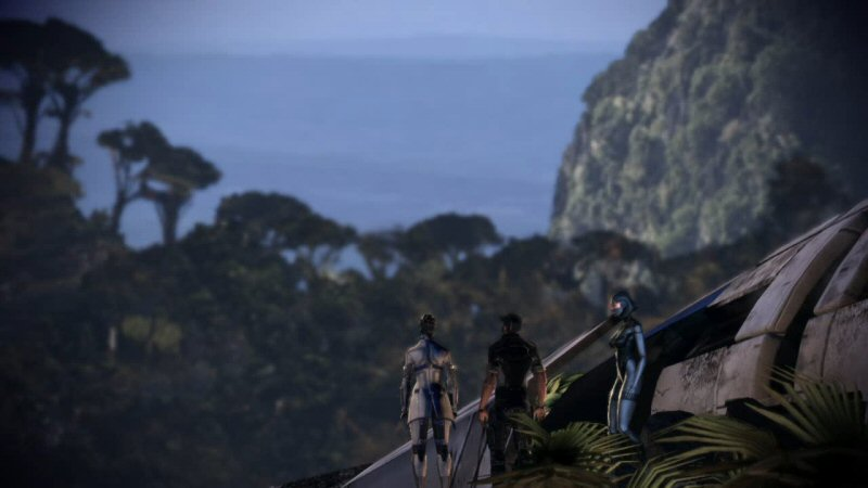 Can you imagine what these guys must be saying right now? What the HELL happened? Why did the mass relay explode? Where are we? Are the Reapers still attacking? What happened to Shepard?