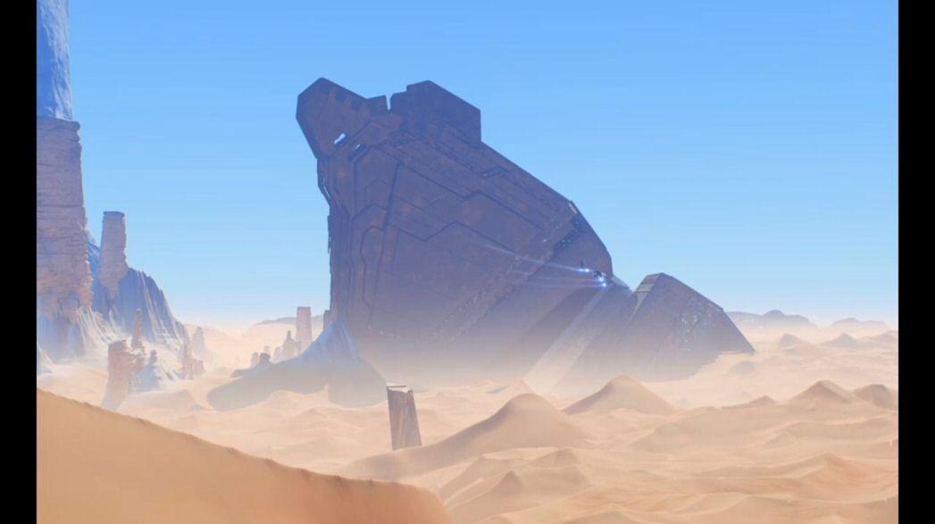 BAD: Make a procedural open world that's a boring desert planet. WORSE: Hand-craft a boring desert planet. MUCH WORSE: Make TWO desert planets.