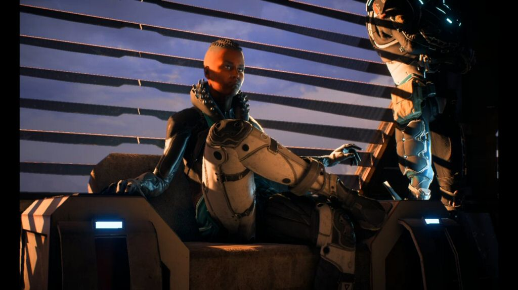 Oh look, yet another main character is a Human in a leadership position. So far we have Alec Ryder, Foster Addison, Sloane, Reyes, Bradley, Jien Garson, Nozomi Dunn, and the player. Did we forget to bring aliens with us, or are they all stuck serving drinks and sweeping the floor?
