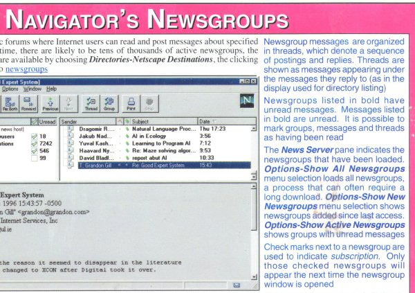 Newsgroups? Really? I thought that by 1997 those things were basically ruined by porn and spam.