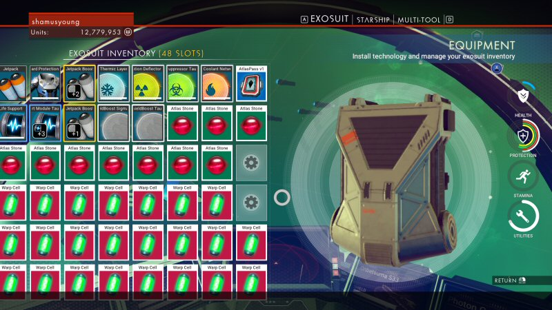 It takes a couple of hours to get this much fuel together. Also note the TEN STUPID ATLAS STONES SUCKING UP ALL MY INVENTORY SLOTS I HATE THIS STUPID SYSTEM.