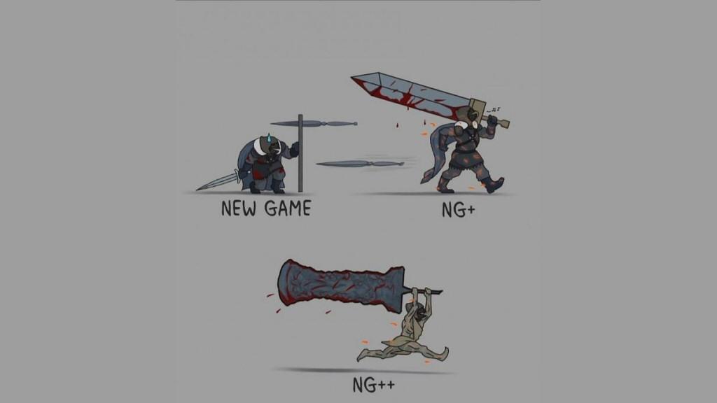A Dark Souls meme swiped from Reddit.
