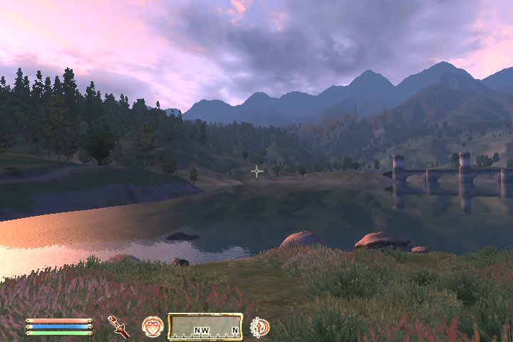 "Oblivion on my ""new"" GeForce 6200."