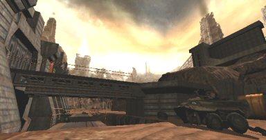 Quake 4: Surface of the Strogg homeworld.