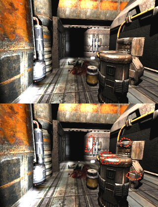 Quake 4: You can't have a planetary invasion without a whole mess of crates and barrels.
