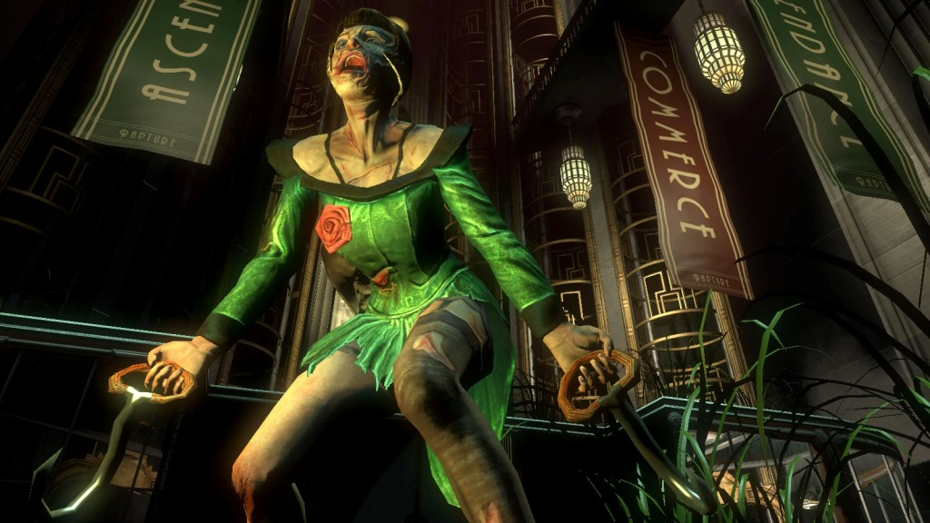 The examination of themes in BioShock is about the depth of a high school paper, but the game racked up a ton of awards because it was still more incisive than the majority of shooters.