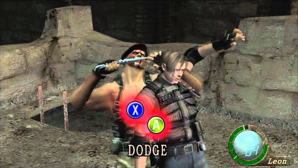 Oh, you said Resident Evil 4 is a HORRIBLE game. I thought you said HORROR game. Makes much more sense now.