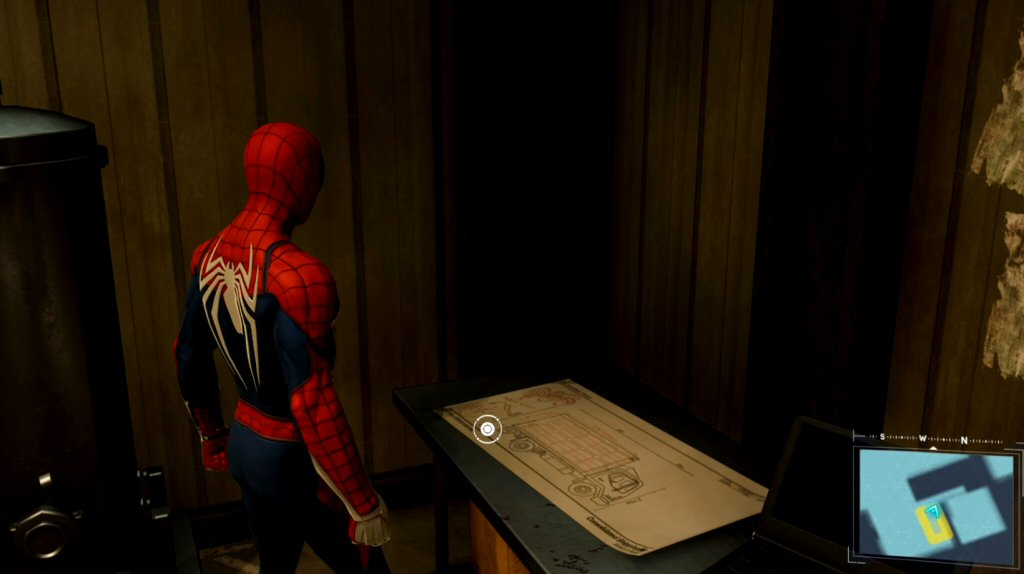Spider-Man finds these plans for truck bombs, which are pictures of trucks with bombs in the back.