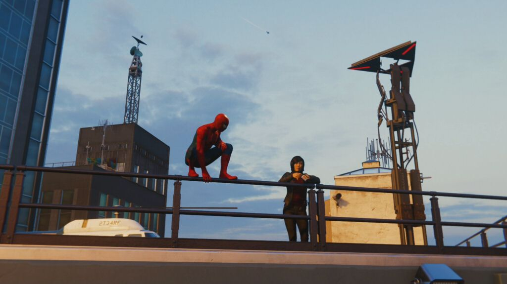 Spider-Man needs to fix all the towers around the city. They say Oscorp on the side, but they feel like they were built by Ubisoft.