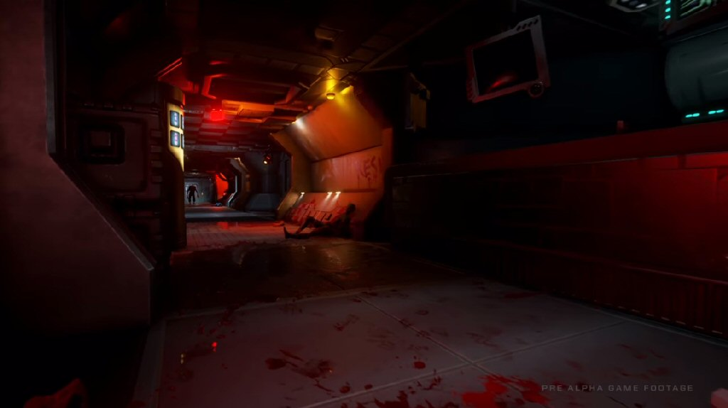 """This doesn't look like """"System Shock as I remember it"""". This looks like Doom 3 as I remember it."""