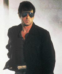 Stallone as Cobra: You're the disease, and I'm the cure.