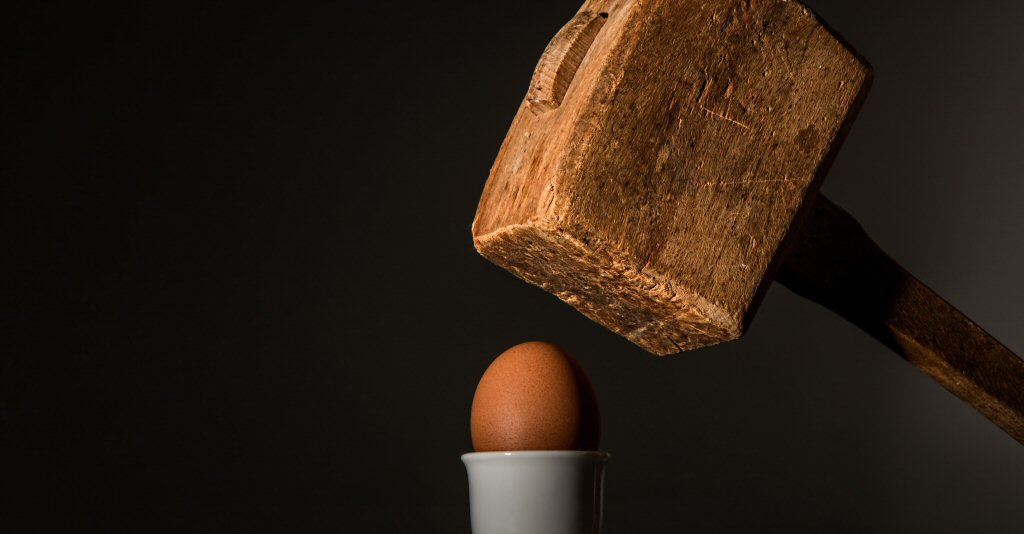When your only tool is a banhammer, every problem looks like an egg.