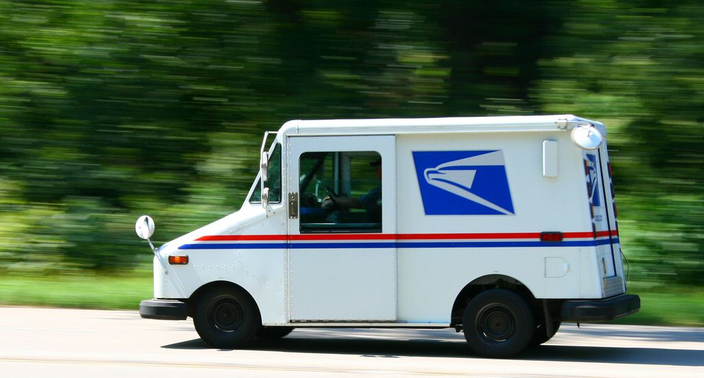 This completely ruins my suspension of disbelief. There's no way you could get one of those mail trucks up to 88 miles per hour.