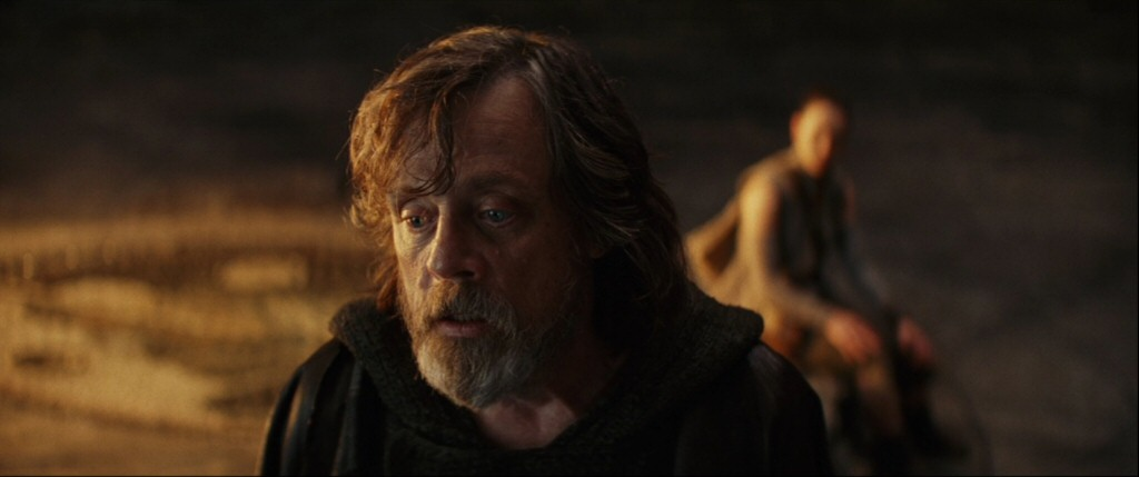 Luke's story pulls the same trick, forcing us to choose between the characters we love and the tropes we expect. If you embrace these new versions of the old characters, you'll be okay. If you try to follow the tropes, you'll go crazy. And if you want both, you'll probably get mad at the filmmaker.
