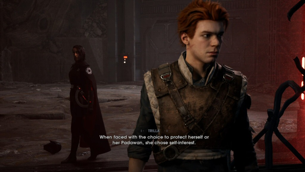 Games should let you emote during cutscenes. I really want to roll my eyes and make a jerk-off motion while Trilla is talking.
