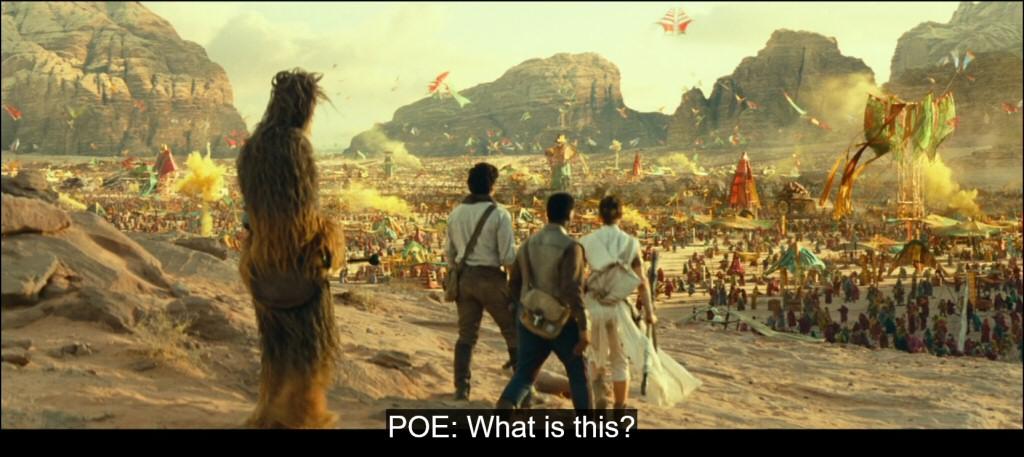 Good question, Poe!