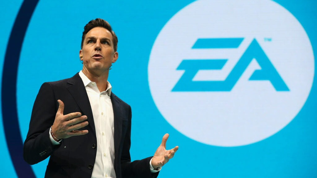 EA CEO Andrew Wilson. He didn't devise the lootbox, but he ran with it, expanded on it, and brought it from sports titles to the rest of the company.