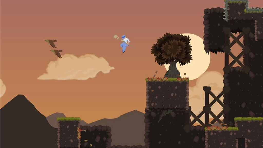 My favorite part of Dustforce is the soundtrack.