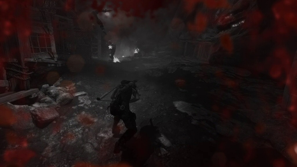 While playing Tomb Raider, I allowed this death to happen purely for illustrative purposes and not at all because I was playing like a reckless, fumbling idiot.