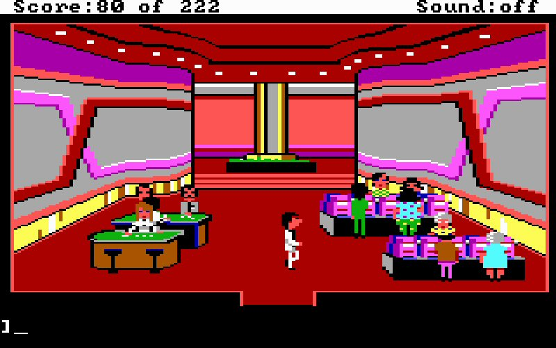 The casino, where you could save-scum your way into riches. In fact, I think you HAD to in order to beat the game.