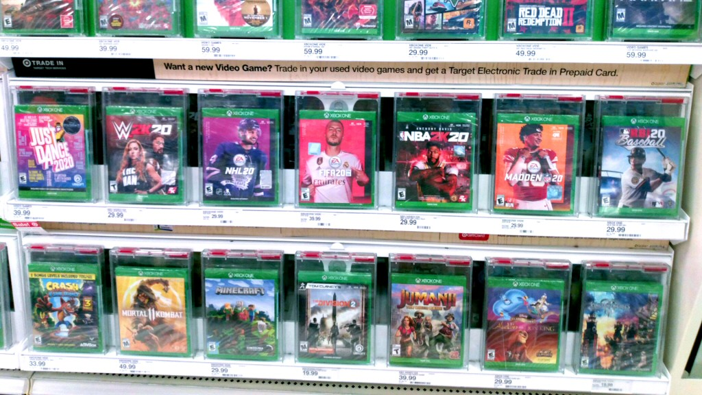 Six inches of shelf space. That's what you get for 30% of your income. (Assuming your box doesn't end up buried behind copies of Grand Theft Auto V and Skyrim.)