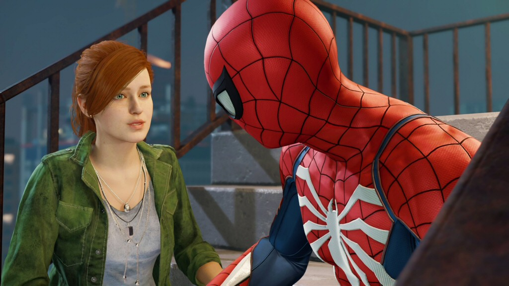 We don''t learn what MJ's beef is with Spider-Man until much later in the story, which makes her post-Standish-cutscene anger seem even more inexplicable at the time. Again, this puts the audience against her, when we really need to be able to empathize with her position.