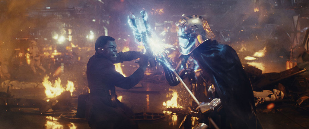 Phasma was a cool character concept that these movies didn`t have time to do properly.