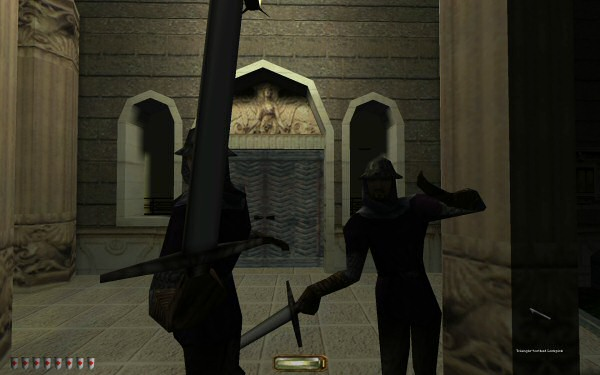 Do these guys have flipper hands? Is thief II a prequel to Octodad?