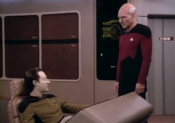 Commander Data, are you SURE you're an android? Is it possible you're just maybe… stupid?