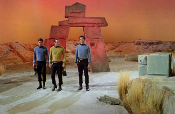 Stardate 21398.2. We look ridiculous. We're a paper hat away from looking like the team of a a space-McDonald's.