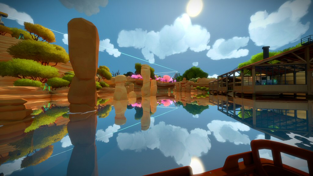 The Witness. There are a lot of features in this game that wouldn't be supported by standard AAA engines. By necessity, idiosyncratic games will require some custom engine work to bring them to market. Which means you can't just treat a game engine like a black box and the leave 'engine work' to experts.