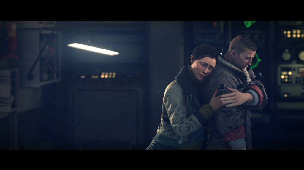 This is a really good moment, although I think I care because the previous Wolfenstein game did a good job at setting up this relationship.