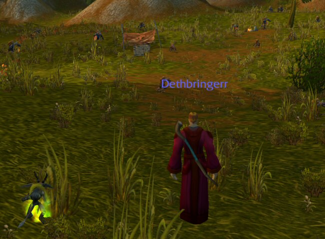 This approach to quests wasn't bad in 2004, but it wore out its welcome when LITERALLY EVERYONE began mindlessly copying it.